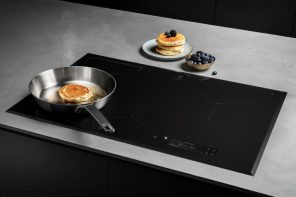 We cooked flawless pancakes in Electrolux's futuristic AI-assisted kitchens!