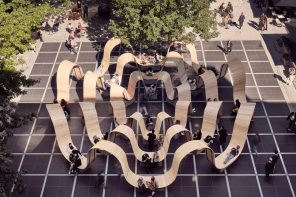 A Circular Oasis For Pedestrians That Does Not Disrupt Traffic!