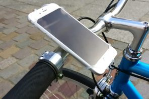 The CYCLYK grips transform your smartphone into your bicycle's instant dashboard