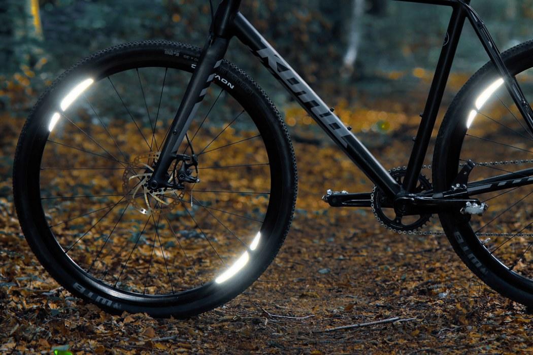 Minimalist 360°Visibility Bike Reflectors Bicycle Wheel Spoke Light Reflector