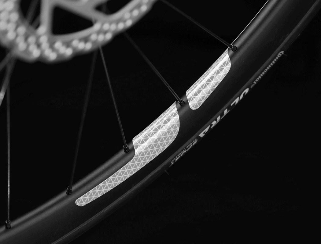 Minimalist 360°Visibility Bike Reflectors Bicycle Wheel Spoke Light Reflective