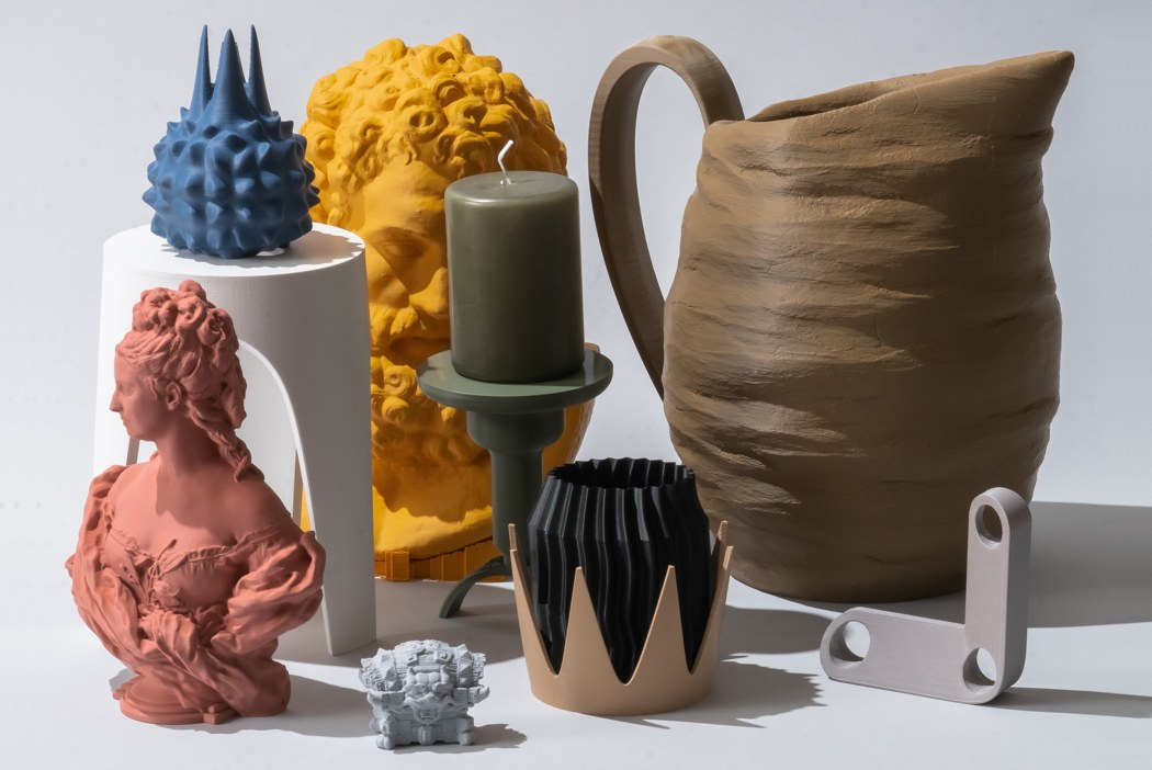 These special art-filaments are like oil-paints for your 3D printer