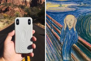 The Scream case for your iPhone