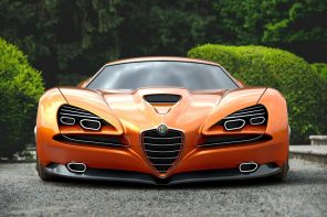 This stunning Alfa Romero concept looks like you'll need a pilot's licence to drive it