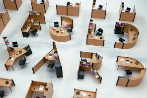 These animated alphabet shaped desks are here to liven up your workplace!