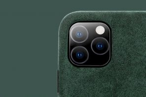 Why wouldn't you clad your precious iPhone in this Midnight Green Suede case??