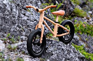 Meet Bixie, a wooden mini-bicycle that gets kids excited about sustainable healthy living