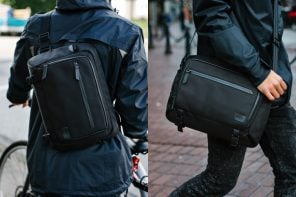 The Urban Pack – versatile EDC bag can be worn as a sling, messenger or on the back