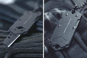 The B-2 Dog Tag with its concealed nano blade will stay on you and rescue you