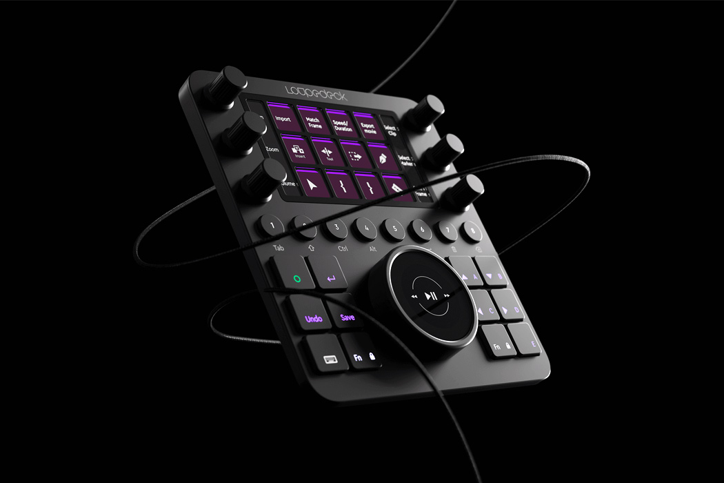 Tactilely control multiple Adobe softwares with this physical editing console!