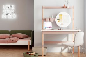 Modular furniture designed to adapt to the ever-changing moods of teenagers!