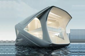 This luxurious house-boat hopes to help humans survive the rising-sea-level crisis