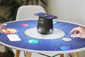 This 360 degree interactive projector is the one gadget designed to bring your family together!