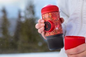 If Santa Claus owned a portable espresso machine, this would be it…