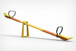 The Adjustable Pivot Seesaw helps your child learn while playing!