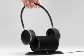 This detachable speaker and headset duo combine for an intense audio experience!