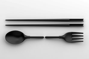 Reusable and sustainable: this cutlery set comes together like a puzzle!