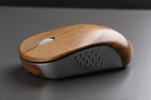 This bamboo and aluminum mouse could be the new way to sustainable design