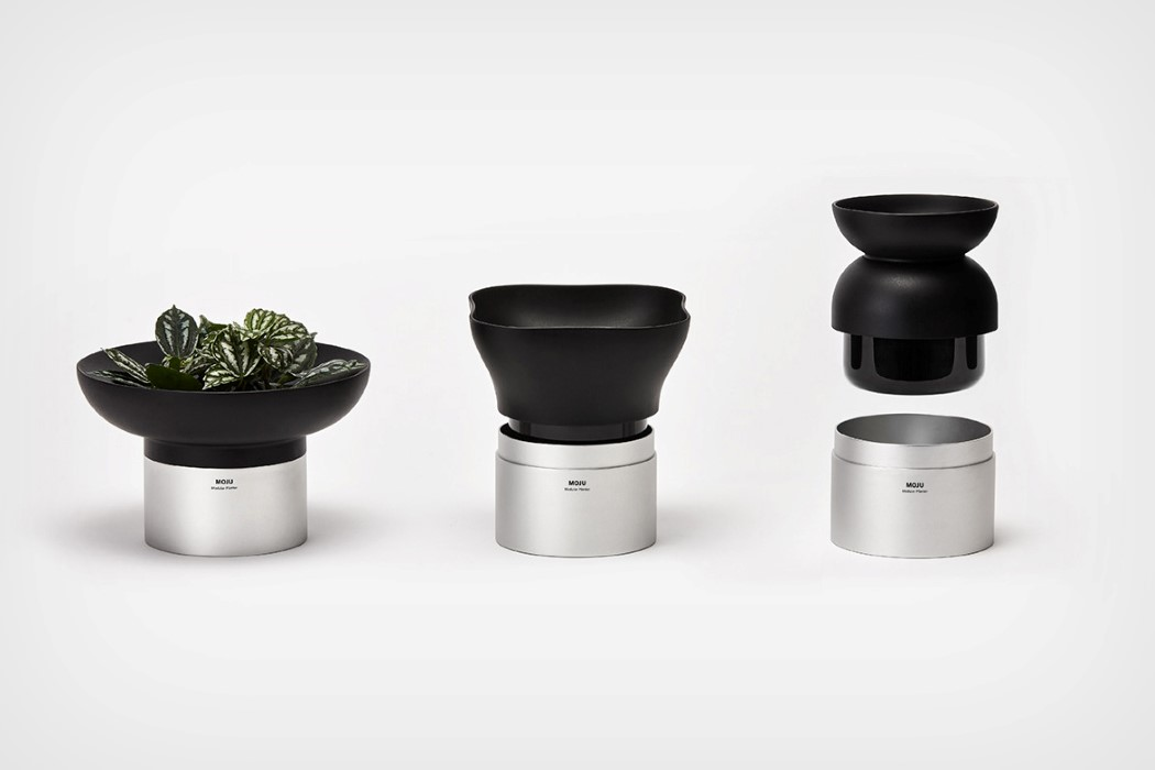 Modular planters that let you plug-and-grow all sorts of plants!