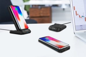 Power-bank, wireless charger, phone-stand, the MyPort is pretty much all of those things