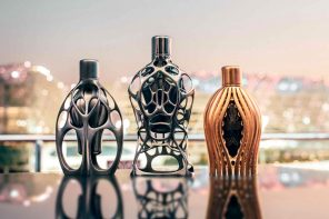 Ross Lovegrove and Formula 1 collaborate over a series of incredibly intricate fragrances