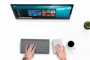 This Microsoft concept keyboard packs a tablet, touchpad and charger!