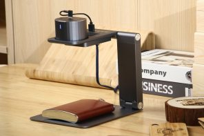 This foldable laser-engraver lets you customize practically anything… even food!