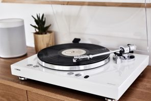 Yamaha's latest turntable steps into the future while paying a tribute to the past!