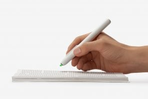 A digital-analog hybrid highlighter that saves time, effort and paper!