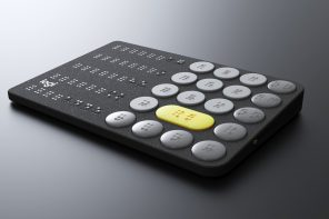 A Logitech-inspired Braille calculator concept for the visually impaired!