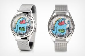Watch how this whimsical monster uses storytelling to depict the time!