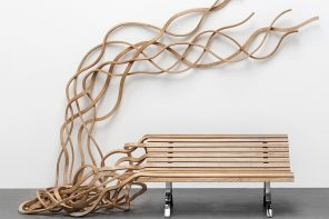 These spaghetti-inspired benches embody fun, freedom and chaos!