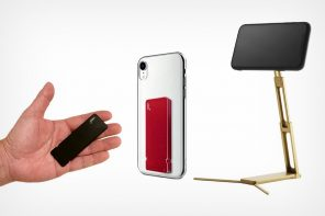 Meet the slimmest, smallest tripod stand to ever attach to your phone…