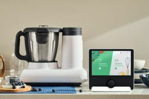 This AI-enabled cooker preps meals, cooks and even cleans itself!