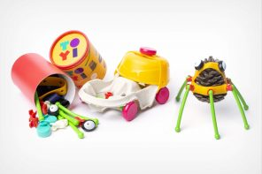 Toyi's creative toy-making toolkit lets kids turn everyday objects into cartoon characters