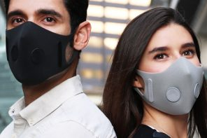 AusAir's botanical face-masks help effectively filter smoke as well as trap viruses