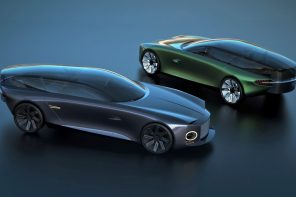 The Bentley Centanne concept encases the riders with a panoramic all-glass top