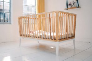 This sustainable crib was made without using a single drop of fossil fuel