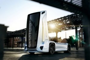 The Gruzovikus is an 'intelligent' freightliner truck that transports cargo without a driver