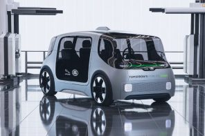 Jaguar Land Rover's Project Vector is a self-driving pod that focuses on zero emissions/accidents
