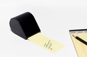 This sticky note dispenser is a must have for every stationery addict!