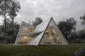 This geometric villa provides complete privacy without compromising the view!
