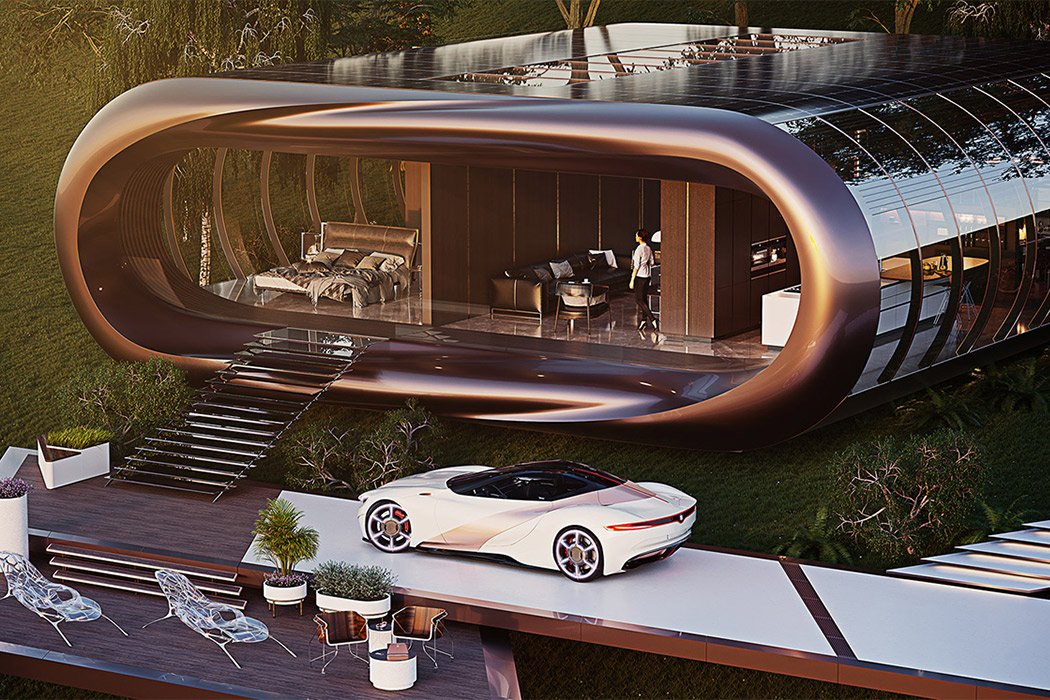 If Tesla Designed Houses This Is What