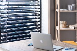 Charge your Tesla and lower your electric bill with these solar blinds!