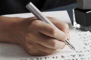 Stationery addicts now have a 'concrete' reason to buy another pen!