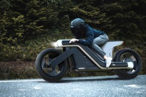 The Z-Motorcycle is a great looking e-bike with a non-traditional aesthetic
