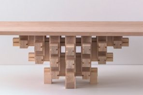This no-screws Dougong Table assembles like Lego and looks like art