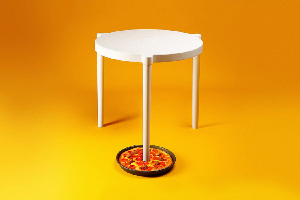 Ikea X Pizza Hut Create A Special Pizza For The Real Pizza Saver