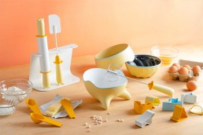 This baking set is designed to make the process educational for kids