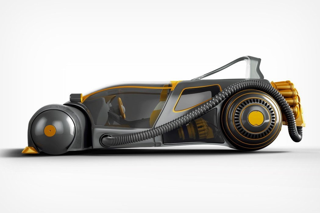 This conceptual Dyson racecar is a 3D mashup of its most ...